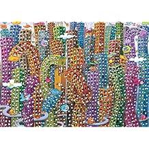 Heye - Heye-29495 - Puzzle Classique - City - Mordillo - 2000 Pièces