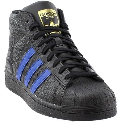 new concept d4be8 c5dee adidas Mens PRO Model Sneaker,BlackRoyal,8