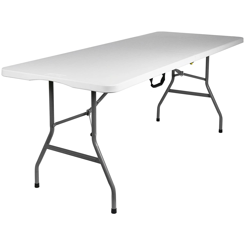 Hartleys 6 Foot Folding Table Indoor Outdoor Kitchen Home