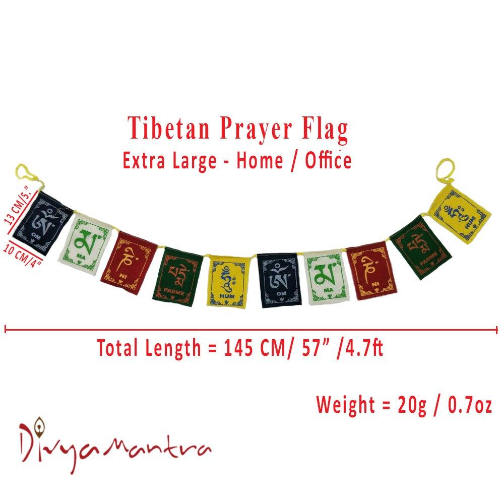 Buy Divya Mantra Tibetian Buddhist Prayer Flags For Home Online At