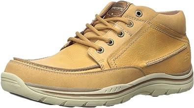 Amazon Com Skechers Usa Men S Expected Chukka Boot Chukka