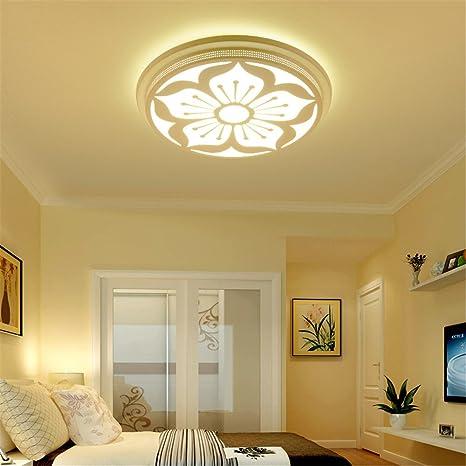 lilamins plafón LED iluminación LED Romántico Elegante Creativa a ...