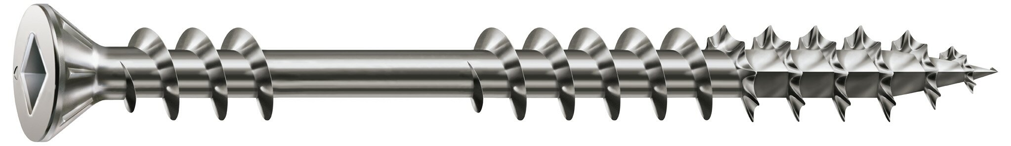 SPAX #10 x 3in. Flat Head Stainless Steel Screw with Double Lock Thread - 1 LB Box