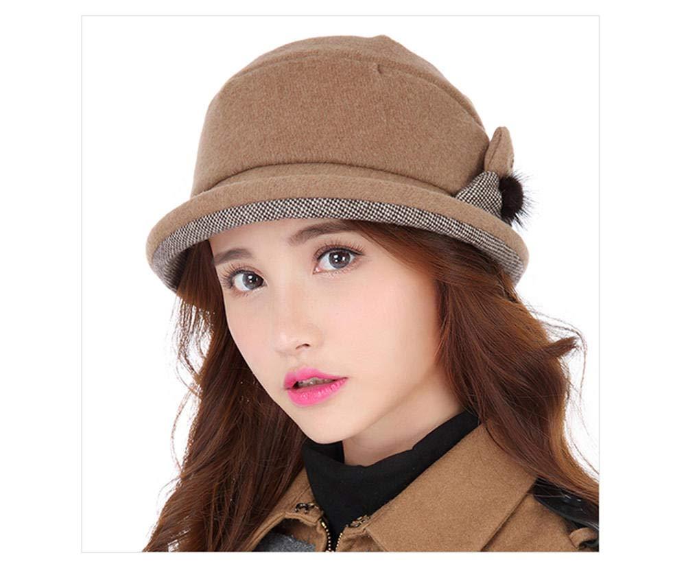 Ladies Summer Women's Simple Spring Fisherman Foldable Sun Hat Brown