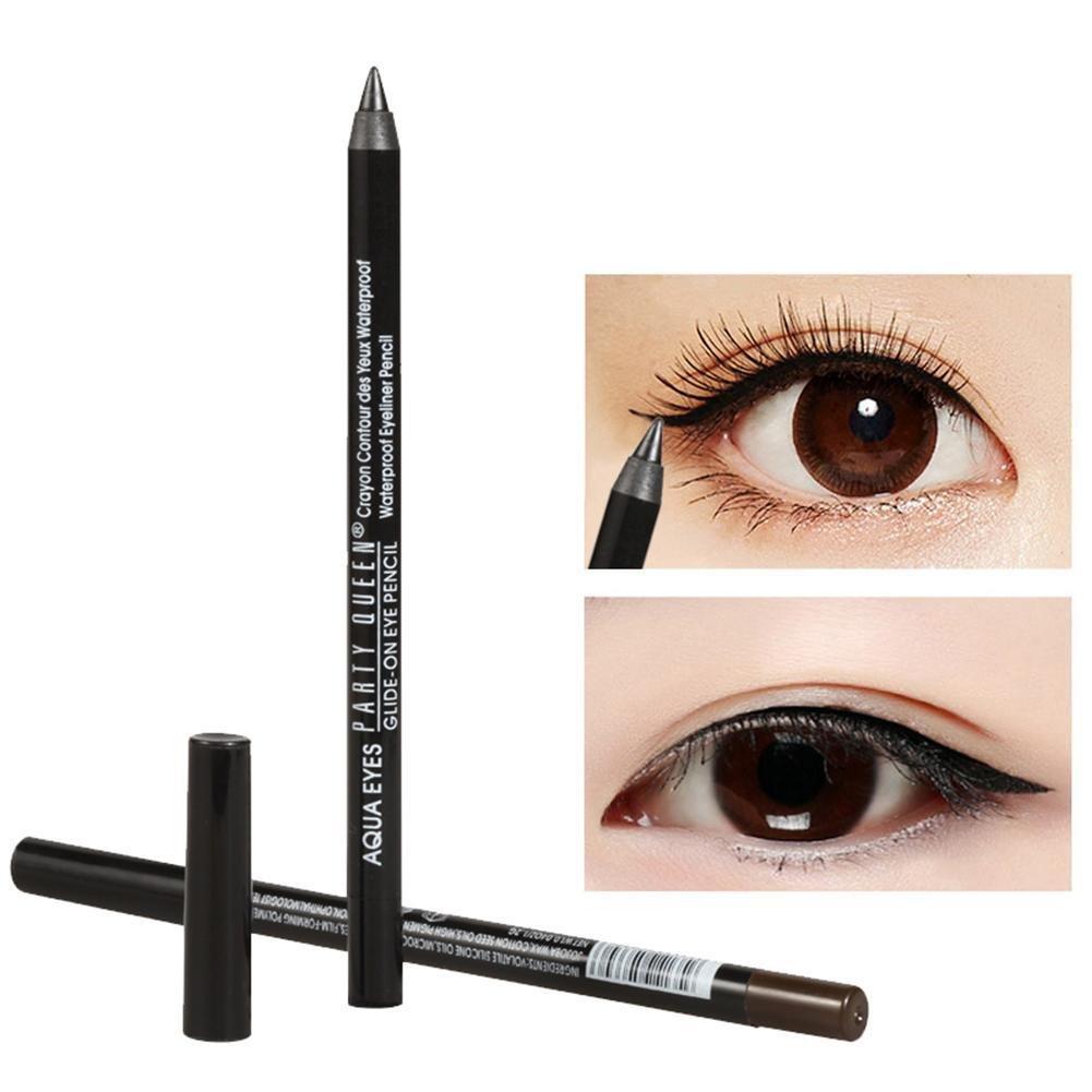 Amazon.com : Gracefulvara Eye Liner Pencil Makeup Long Lasting Waterproof Black&Brown Eyeliner, Brown : Beauty