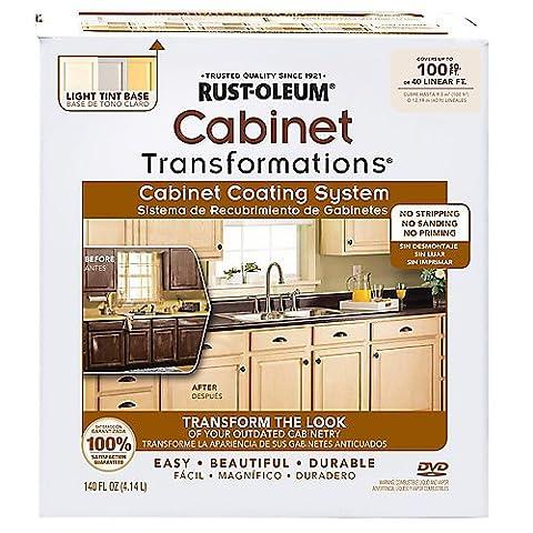 Rust-Oleum Cabinet Transformations, 258109 Small Kit, WINTER FOG - Glaze Wood Cabinets
