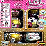 lol surprise glitter series color gold pack of - 6
