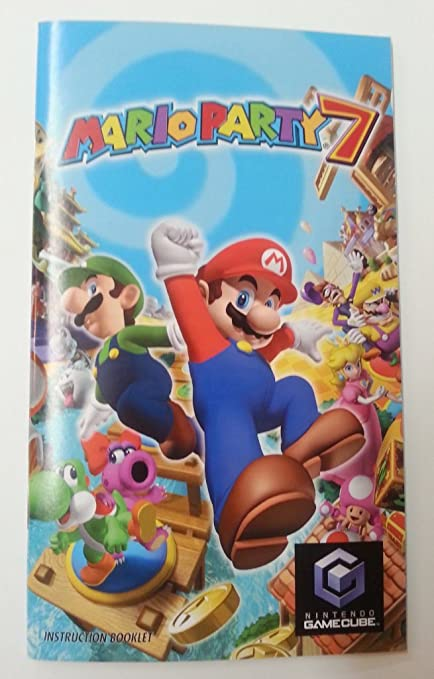 Amazon Instruction Booklet Nintendo Manual Only No Game
