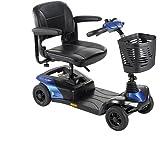 Invacare Colibri Scooter électrique 12Ah et 4roulettes pour personnes âgées Bleu