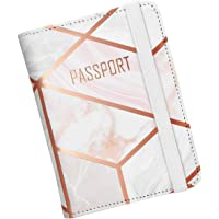 Nacuwa Funda Pasaporte Viaje Caja Sostenedor Cubierta RFID