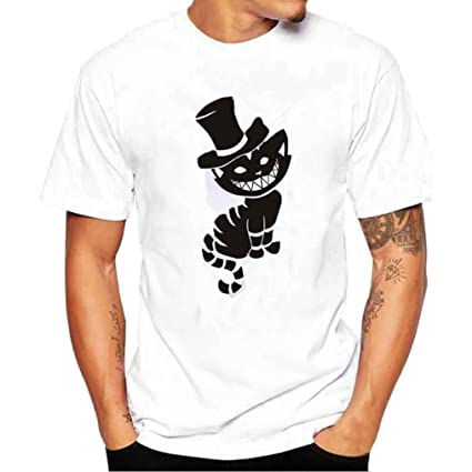 Amlaiworld Camiseta de hombre Baratas deporte Camisetas casual de manga corta de verano para