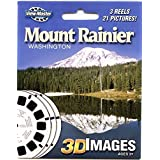 Mount Rainier, WA - ViewMaster Reels 3D - Unsold store stock - never opened by 3Dstereo ViewMaster