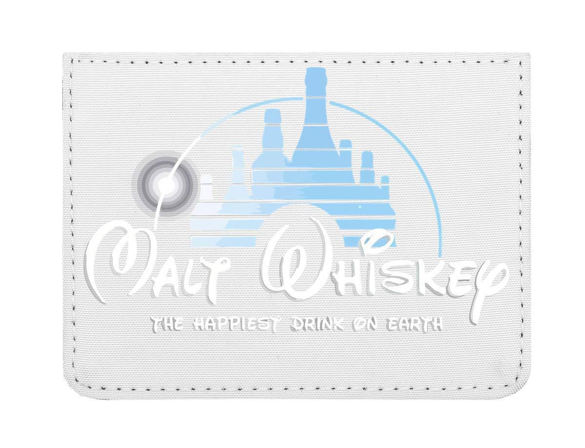 Malt Whiskey The Happiest Drink on Earth Étui Cartes de crédit de Poche