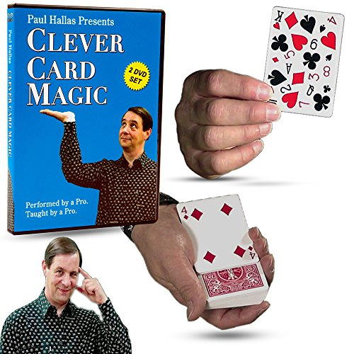 Clever Card Magic (Magic Makers Clever Card Magic - 2 Volume Course In Routine Based Card Tricks)
