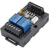 Placa de control PLC, Walfront 1PC PLC Placa de control industrial FX1N-06MR Programable Controlador lógico Módulo de retardo