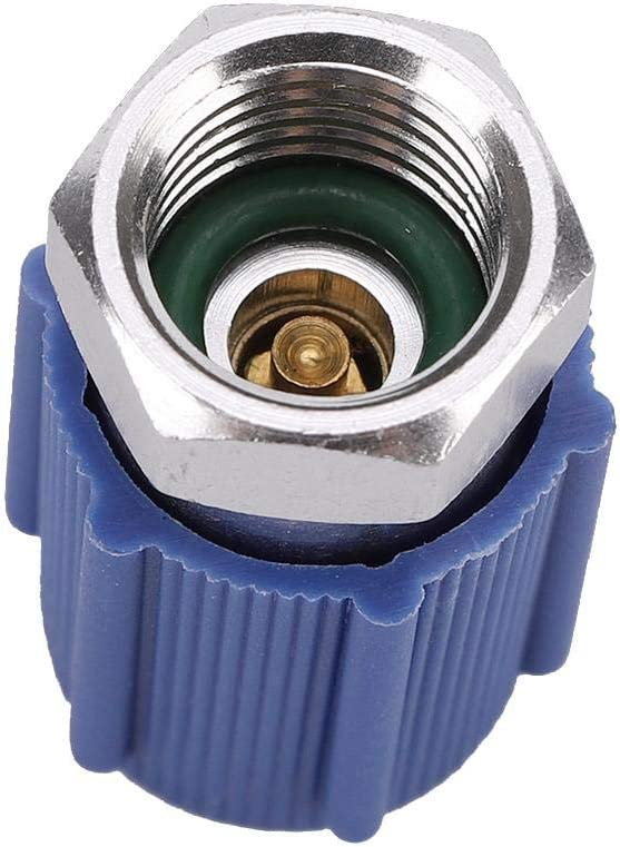 R12 R22 R502 Screw to R134A Retrofit Conversion Adapter Valve 1//4  High /& Low Voltage Conversion