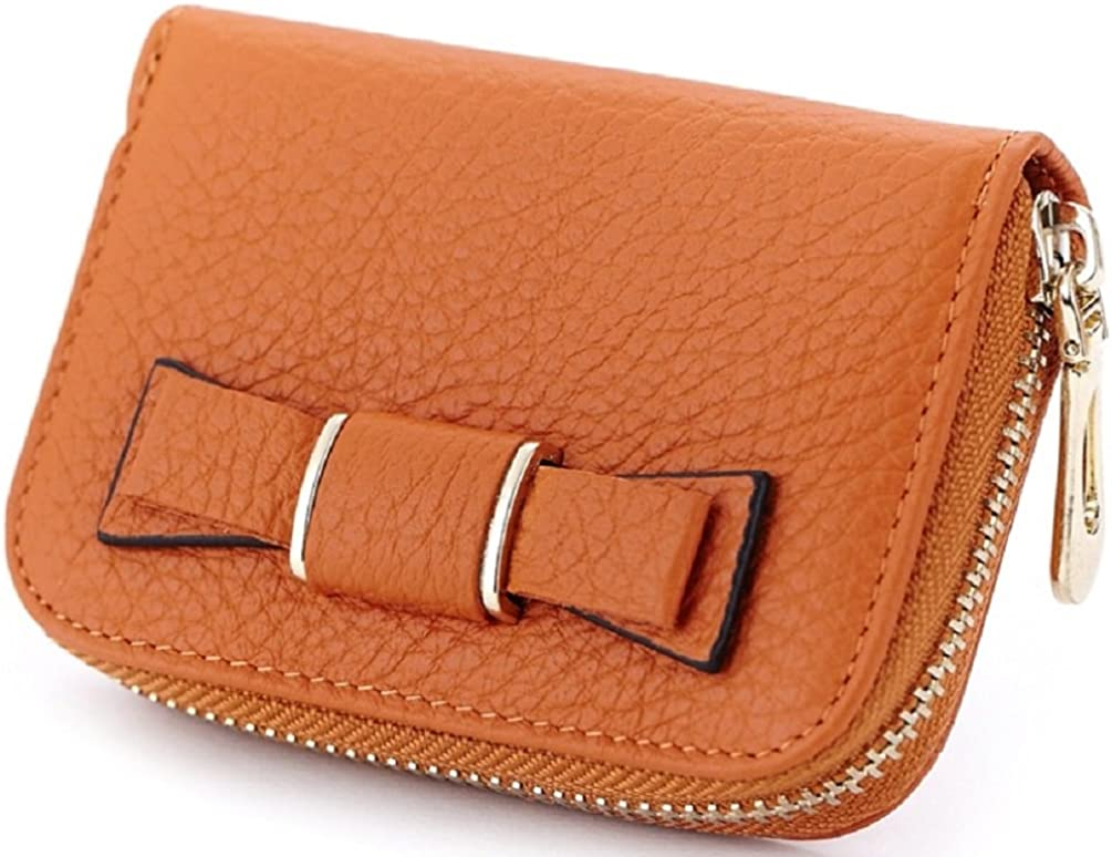 Sannea Womens Bowtie Small Wallet Credit Card Holders//ID Coin Cases