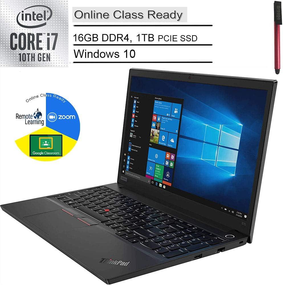 2020 Lenovo ThinkPad E15 (Newer Version of E590) 15.6
