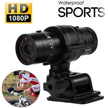 Hangang Mini Sports Caméra Full HD 1080p Action étanche Sport Casque vélo  pour caméra vidéo DVR 76af1ff9fe91