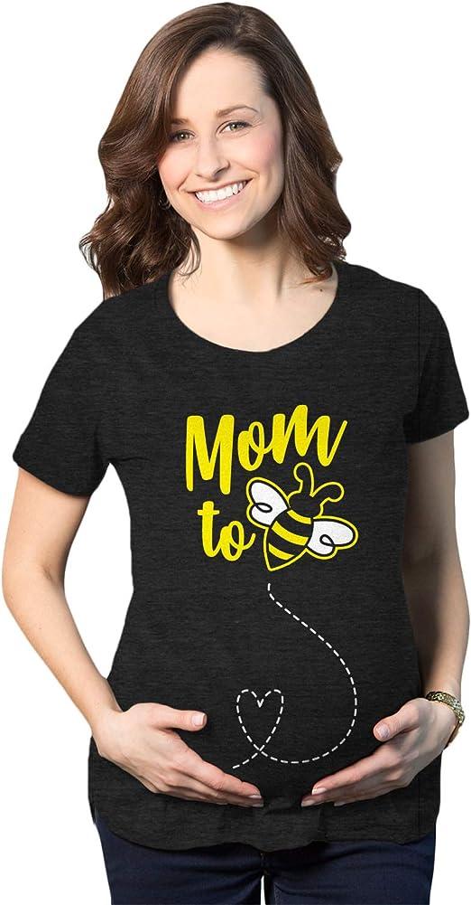 MATERNITY Ladies Youth T-Shirt Mum To Bee PREGNANCY Tshirt Baby Gift Shower