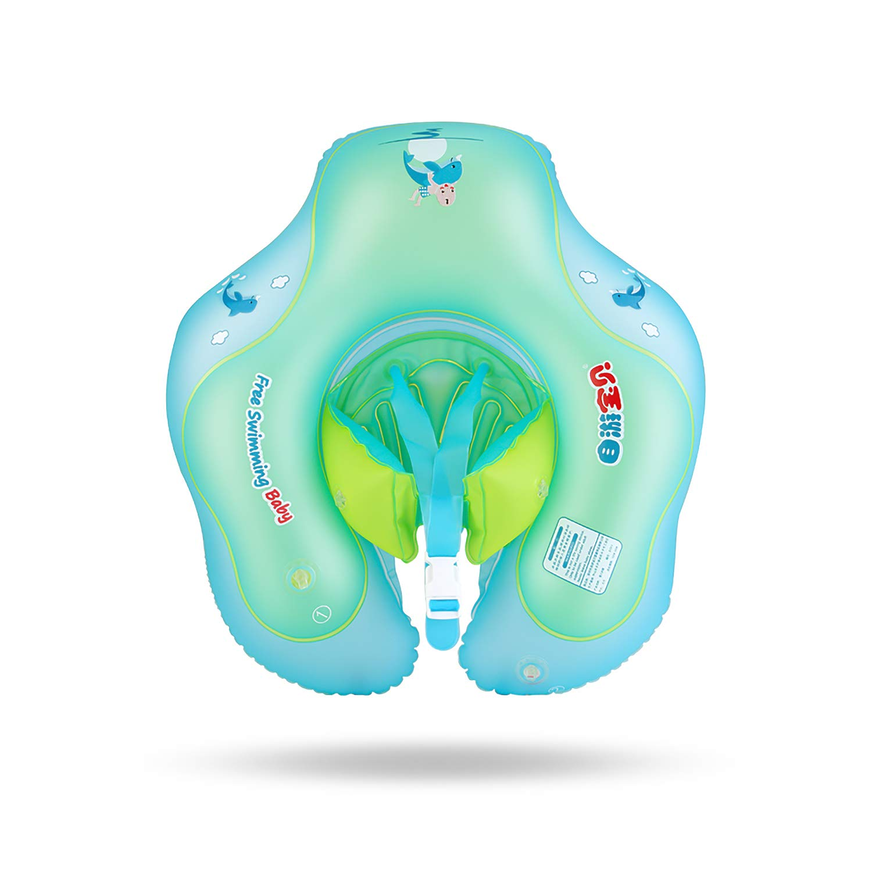 Amazon.com: MOOSENG Flotador de natación para bebé, flotador ...