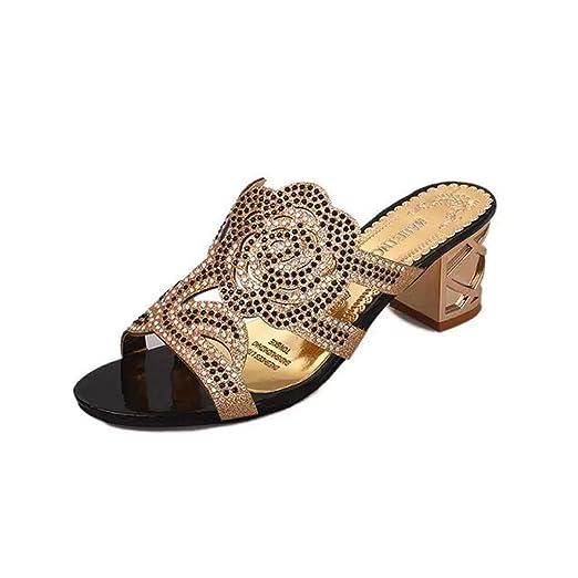3c80262748a DENER❤ Women Ladies Platform Wedge Sandals with Chunky Heels