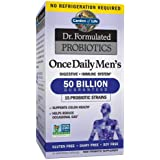 Probiotics for Men - Garden of Life Dr. Formulated Once Daily Men's Probiotics 50 Billion CFU Daily Probiotic for Constipatio