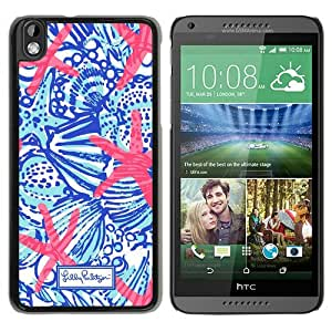 Unique And Fashionable Designed Cover Case For HTC Desire 816 With Lilly Pulitzer 26 Black Phone Case