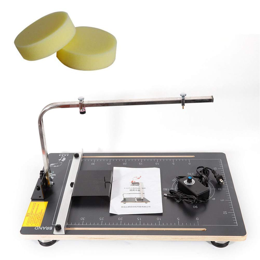 Table Foam Cutter, TBVECHI Foam Cutting Machine ulti-Purpose Board Hot Wire Styrofoam Cutter Working Table by TBvechi (Image #1)
