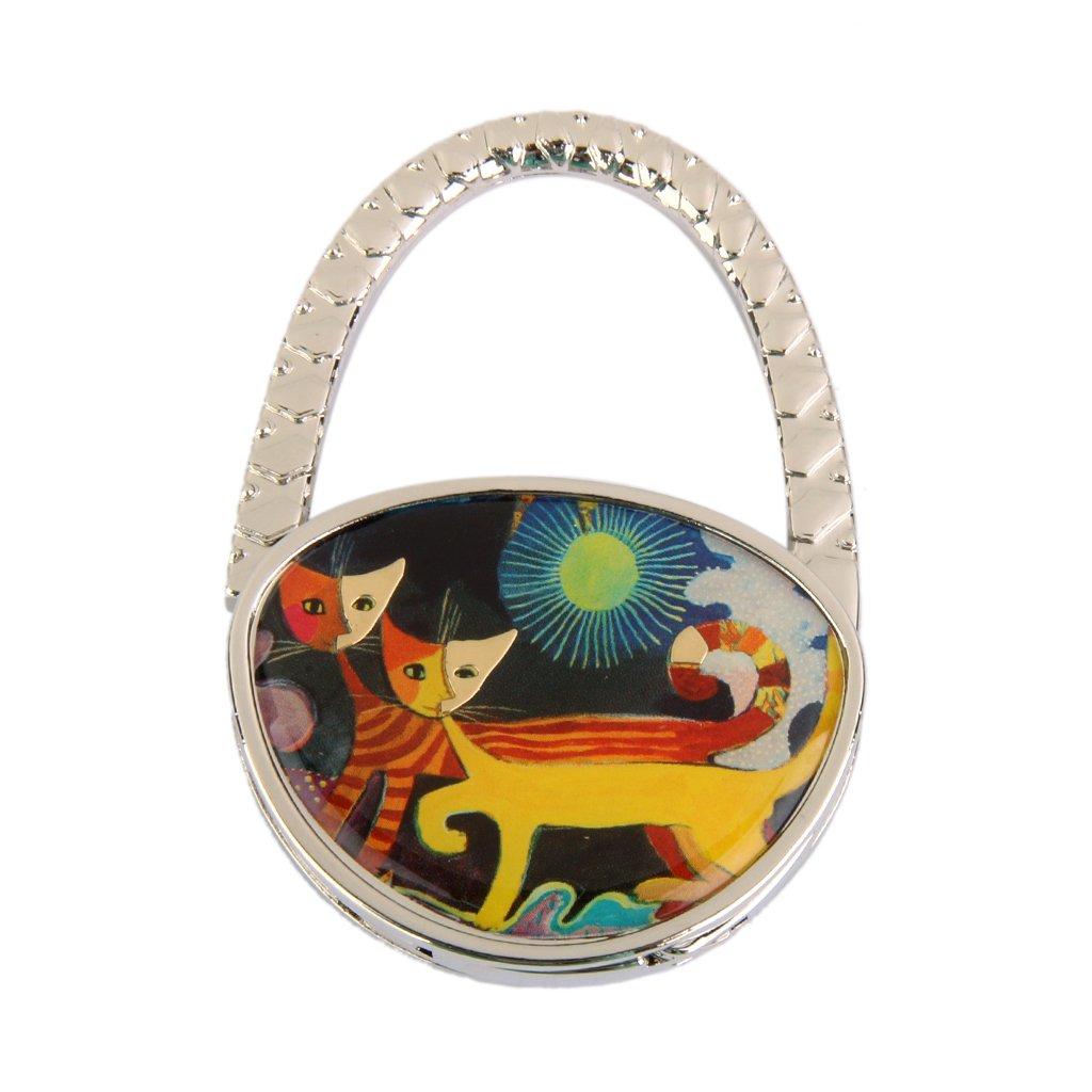 Tabelle Paare Cat Faltbare Handtasche Tasche Handtaschenaufhänger Hakenhalter Heißes Geschenk FRA14015118