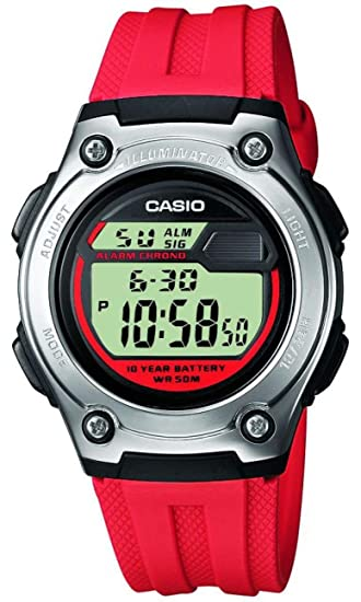 Casio Reloj Digital para Hombre de Cuarzo con Correa en Plástico W-211-4AVES: Amazon.es: Relojes