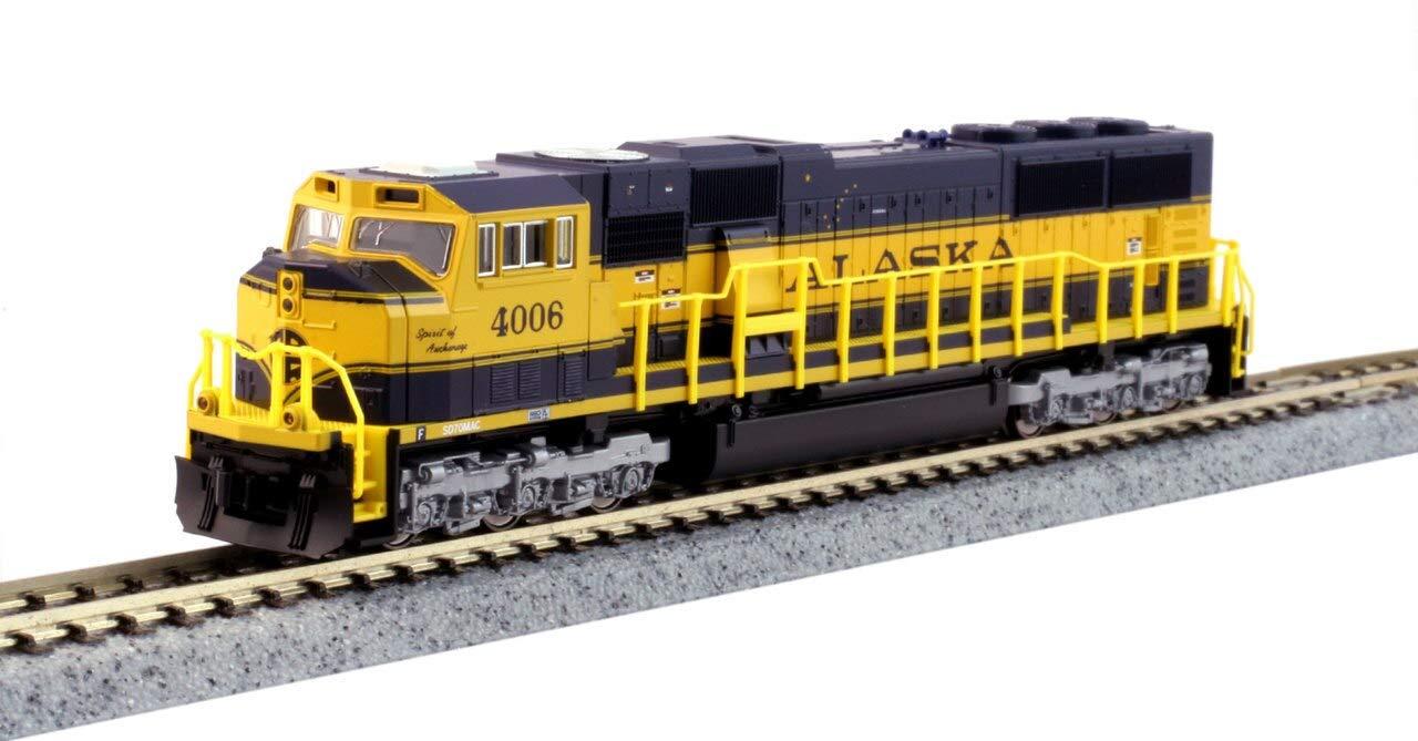 Kato KAT1764113DCC N PB1 w/DCC, D&RGW/4 Stripe by Kato Model Trains (Image #1)