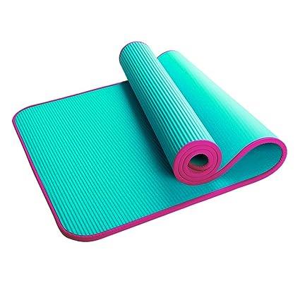 Amazon.com: YQSMYSW - Esterilla de yoga larga antideslizante ...