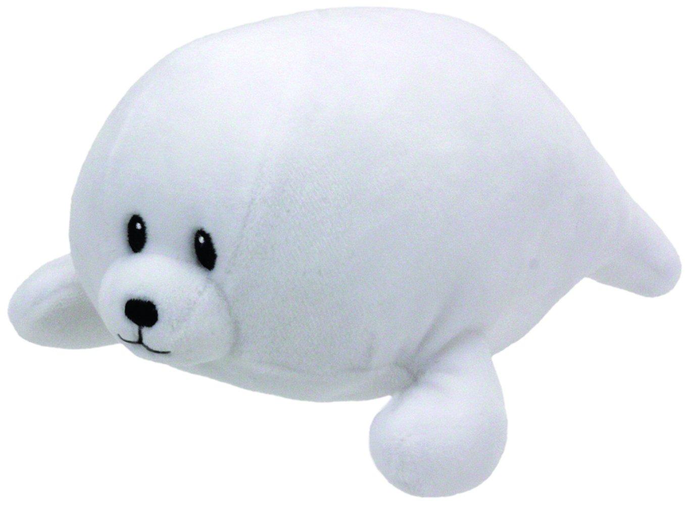 Ty Tiny White Seal med