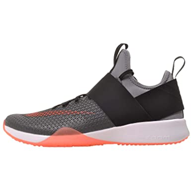 Nike Women's Womans Air Zoom Strong, Cool Grey/Total Crimson-Black, 6
