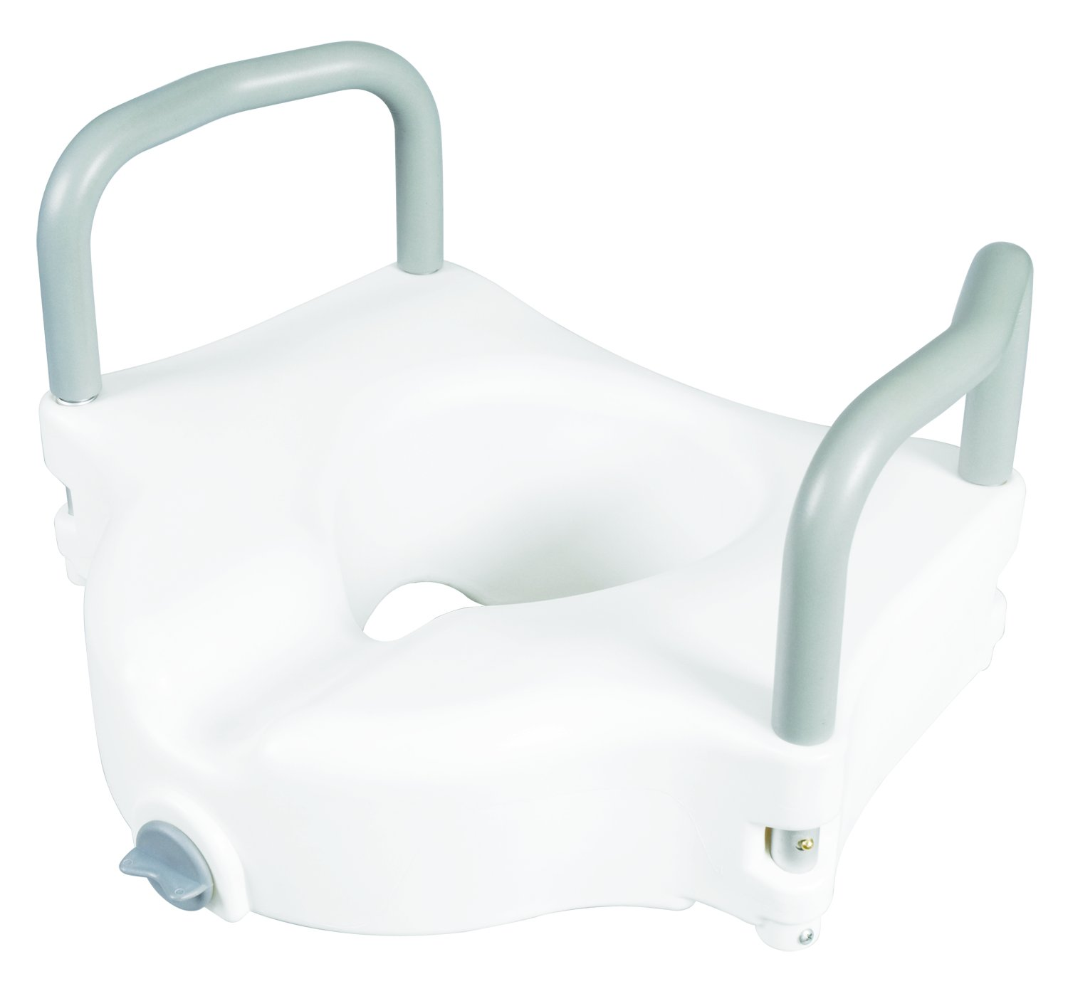 Carex B31877 Raised Toilet Seat with Arms