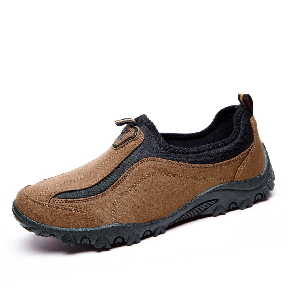 LeKuni Herren Trekking & Wanderhalbschuhe Outdoor Walking Schuhe(41,Schwarz)