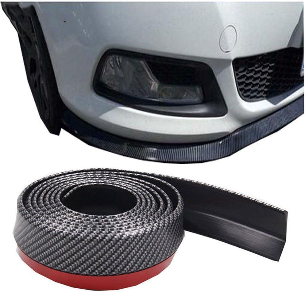 ICTRONIX par Auto parte delantera trasera Protecci/ón Parachoques tira protectora anti ara/ñazos flexible