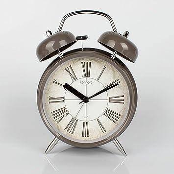 Despertador Reloj de escritorio Retro Simple Viento ...