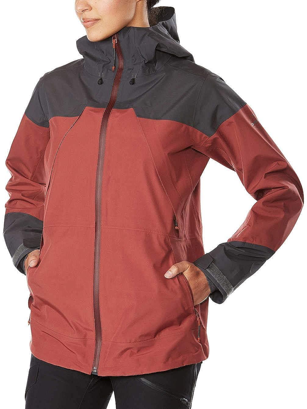 Burnt pink, Shadow Dakine 10000645 Women's Beretta GoreTex 3L Jacket