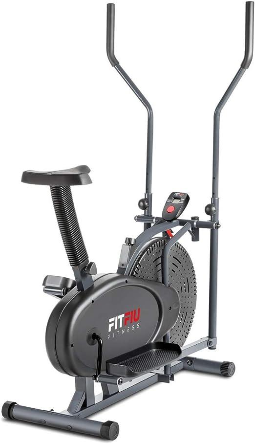 FITFIU Fitness BELI-100 - Bicicleta Eliptica con sillín ...