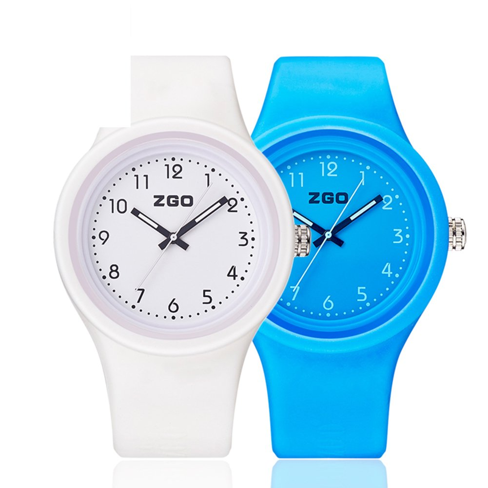 Luminous waterproof watch/Korean version of the simple matching watches-L