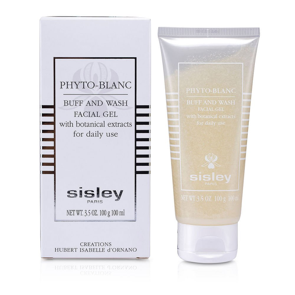 Sisley by Sisley Sisley Phyto- Blanc Buff & Wash Facial Gel (Tube)--100ml/3.3oz for WOMEN ---(Package Of 2)