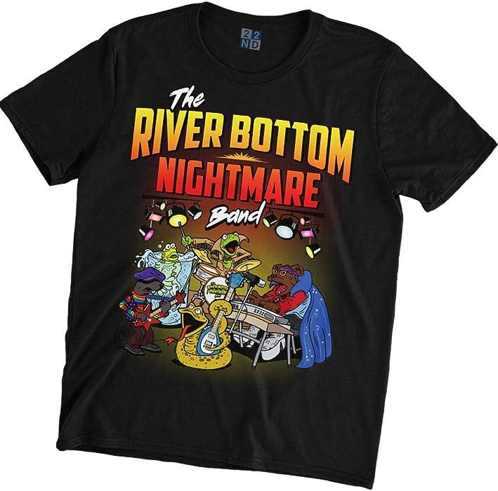 River bottom nightmare band t shirt