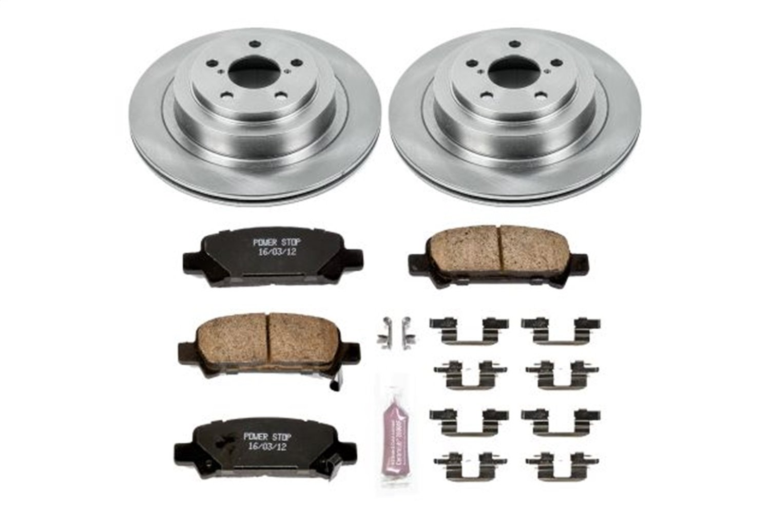 Autospecialty KOE219 1-Click OE Replacement Brake Kit