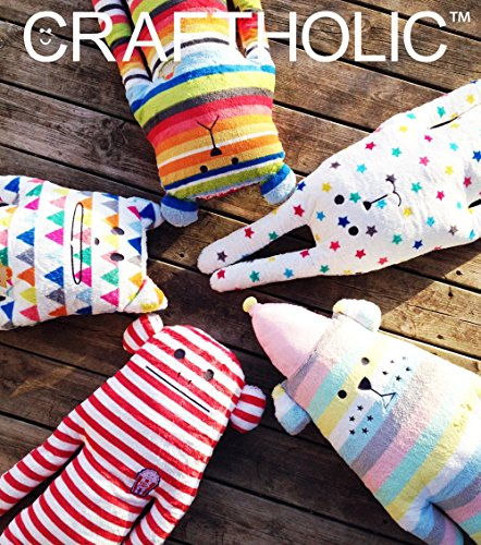CRAFTHOLIC Super Soft Hoodie Blanket - Unisex Cozy Blanket With An Animal Hood / Cupcake Sloth Teddy Bear - 27.5'' X 55'' - 100% Polyester by Craftholic (Image #5)