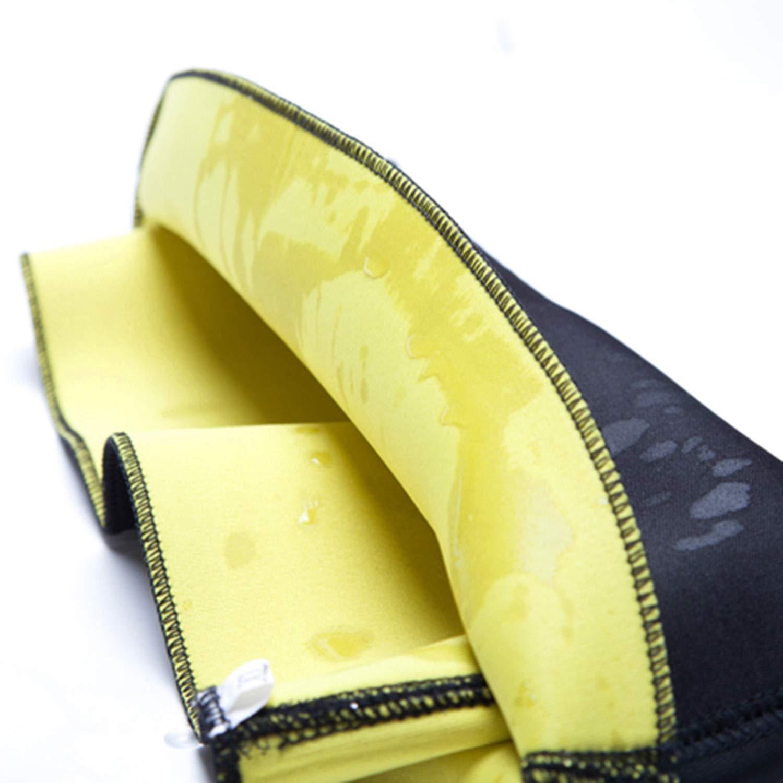 Dhyiklo Womens Hot Slimming Belt Waist Girdle for Weight Loss Neoprene Waist Trainer Corset Belt Black M United States