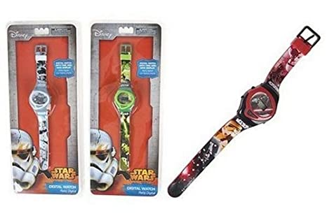Oficial Disney Star Wars Reloj digital (Verde) * * NEW * *