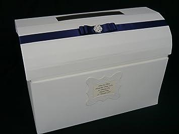 Pecho correos, boda, cumpleaños, aniversario, Pearl adornos, cualquier color Ribbon: Amazon.es: Oficina y papelería