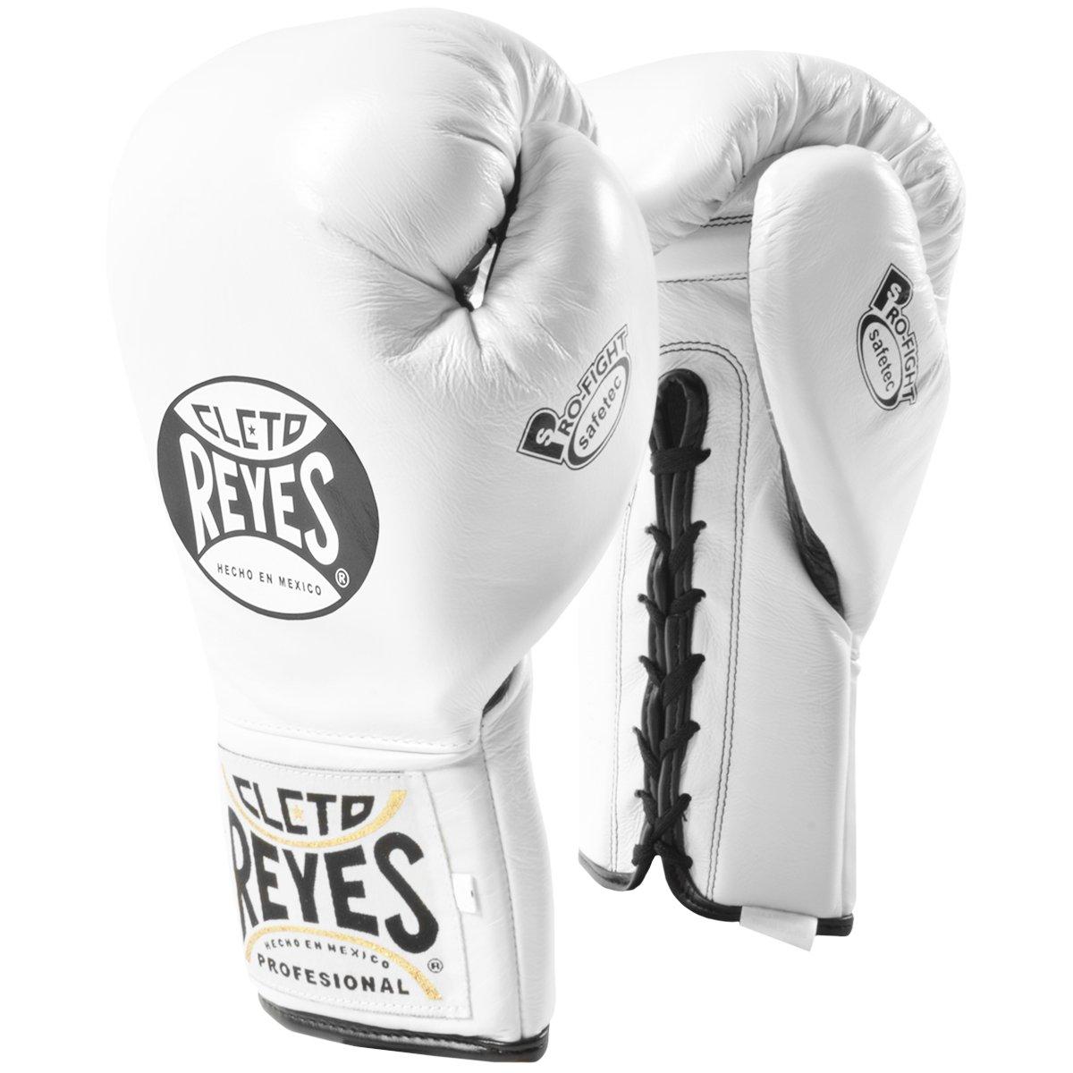 Cleto Reyes Safetec Professional Boxing Fight手袋 – ホワイト  8 oz.